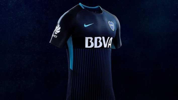 Boca presentó un nuevo diseño alternativo de su camiseta