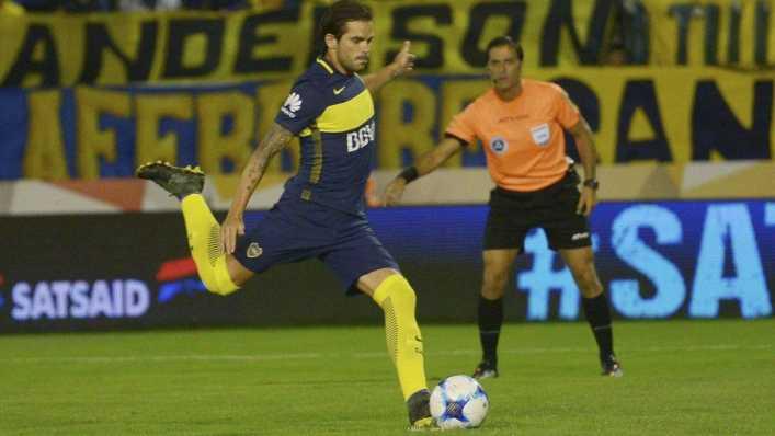 Boca recibió una buena noticia: Fernando Gago se entrenó con normalidad