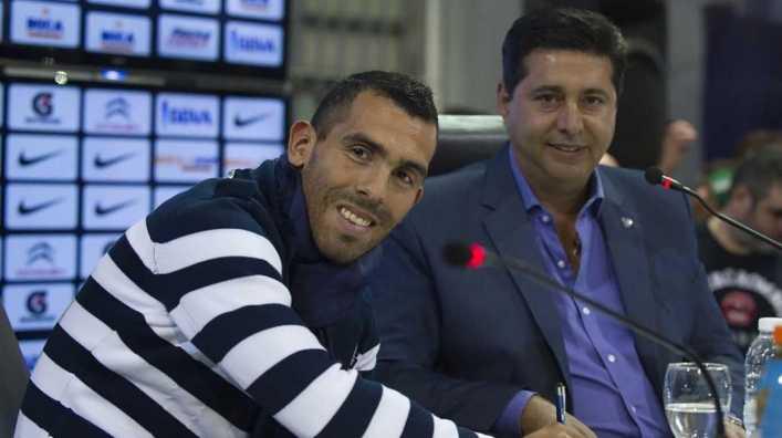 Boca reveló cuántos millones le entraron por la venta de Carlos Tevez