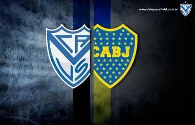 Boca tiene una exigente visita a Vélez
