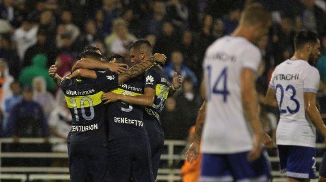 Boca venció a Vélez y sigue firme en la punta