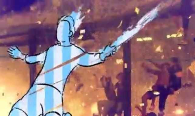 Boca ya hizo gambetear a Messi en La Bombonera