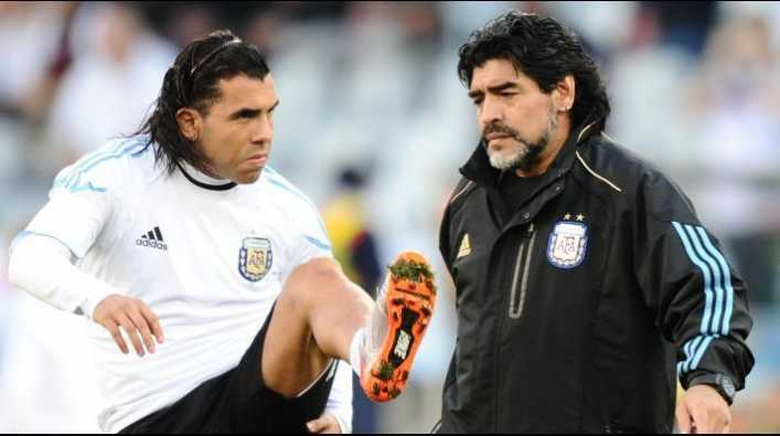 Bomba: El 9 que quiere Maradona para Gimnasia es Tevez