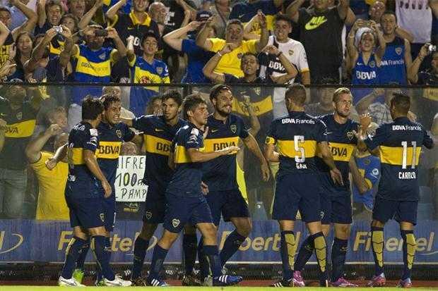 VIDEO: En la Bombonera, Boca armó una fiesta a puro gol ante Zamora