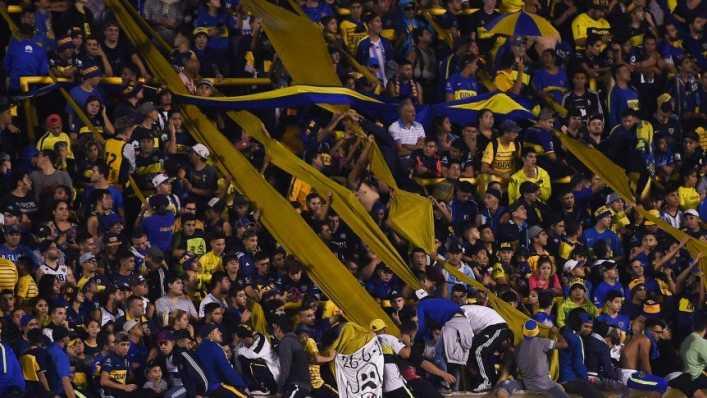 Bombonera repleta para recibir a Cruzeiro