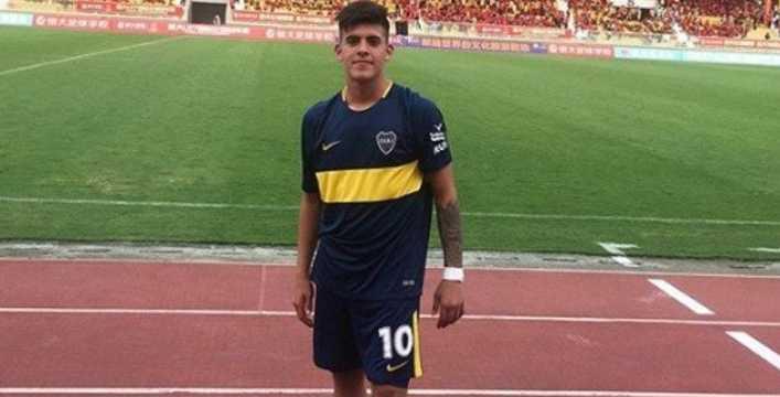 Brandon Cortés sigue dando grandes pasos en Boca Juniors