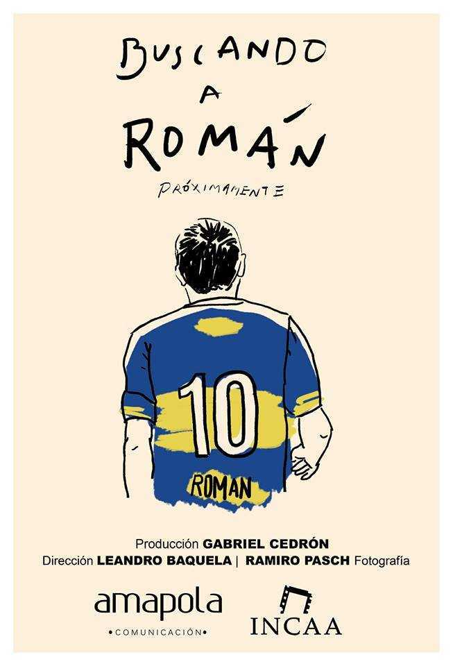 """Buscando a Román"" ya tiene su afiche"