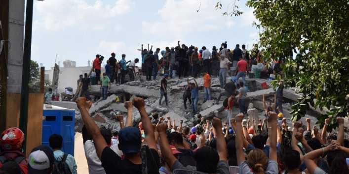 #BuscoA, el hashtag para encontrar a desaparecidos tras terremoto