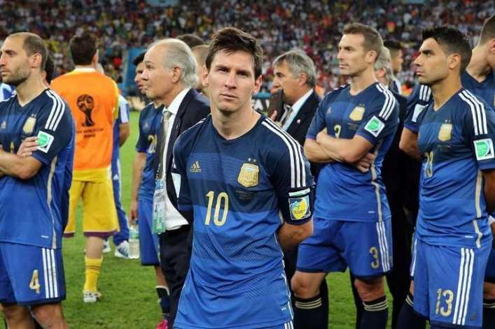 Cambio en Argentina: se retira la camiseta azul