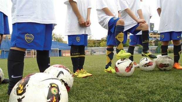 Campus Xeneize: el sueño de entrenarse como un futbolista profesional