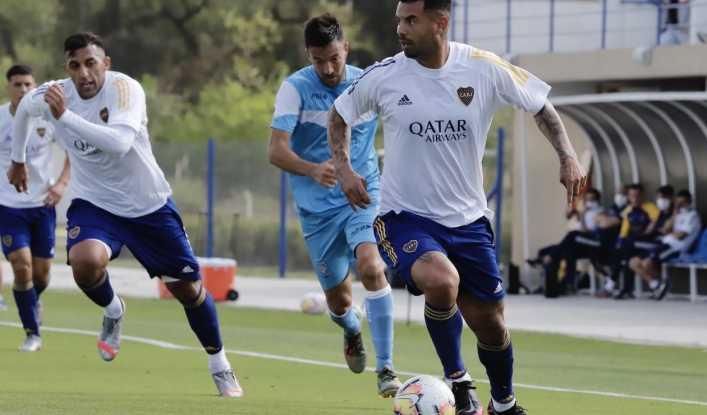Cardona y Villa volvieron a anotar gol con Boca Juniors