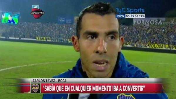 Carlos Tévez: esto dijo el 'Apache sobre River y la Copa Libertadores
