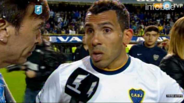 VIDEO: Carlos Tévez y sus emotivas palabras tras campeonar con Boca Juniors