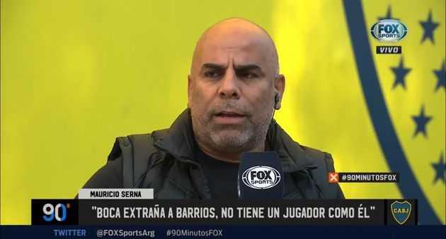 Chicho: Boca extraña a Barrios, no tiene un jugador como él