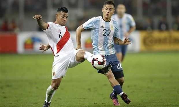 como salieron los ultimos diez argentina peru por eliminatorias
