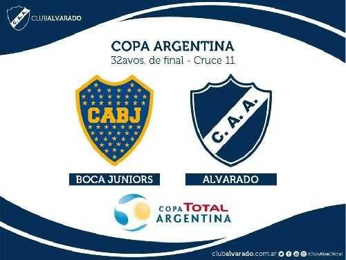 Cómo ver Boca vs. Alvarado en vivo y online