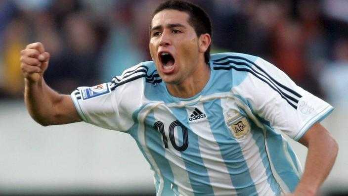 VIDEO: Compacto de goles de Riquelme con la selección Argentina