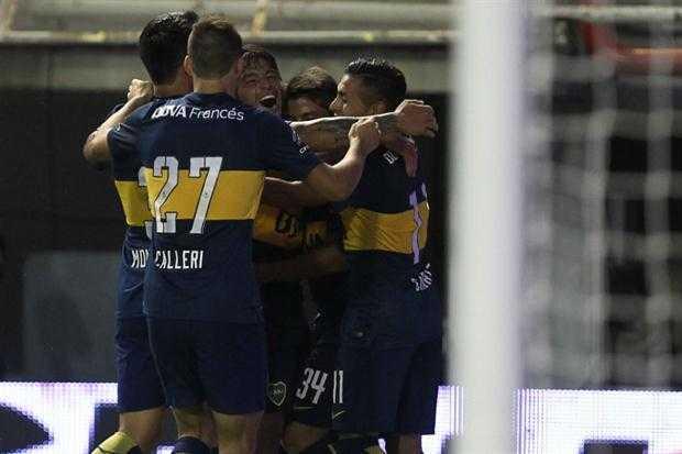 Con dos goles de Palacios, Boca venció 3 a 1 a Olimpo en el debut