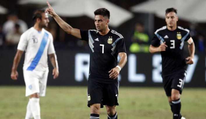 Con muchas caras nuevas, Argentina goleó a Guatemala