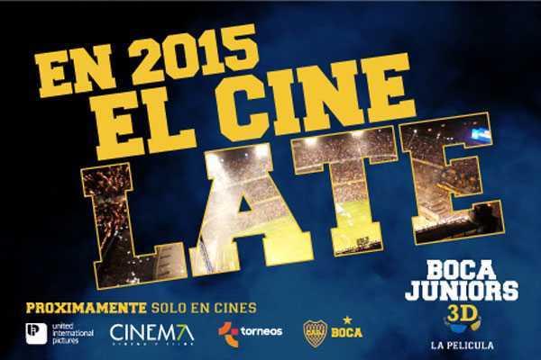 Contaron detalles de Boca Juniors 3D, la película oficial que llegará a los cines