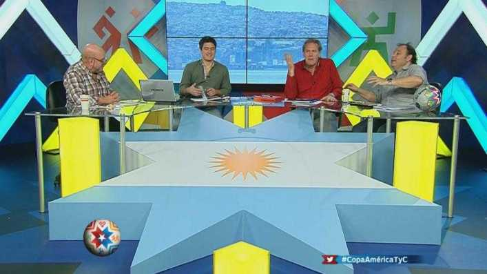 copa america 2015 televisacion primera fase