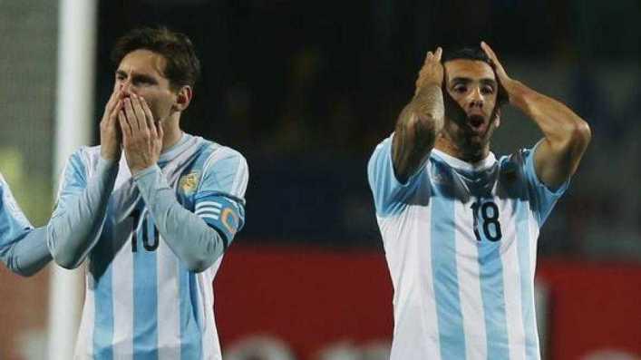 Copa América: por qué no jugó Tévez la final
