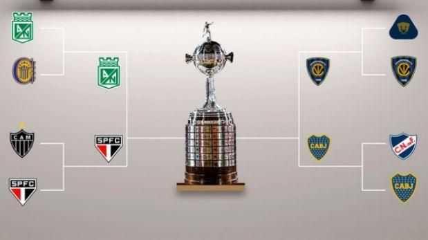 copa libertadores 2016 asi se jugaran semifinales