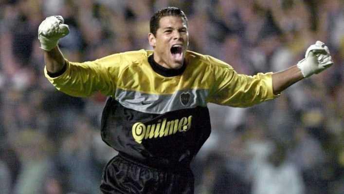 Córdoba fue el mejor arquero de la historia de Boca y Sudamérica