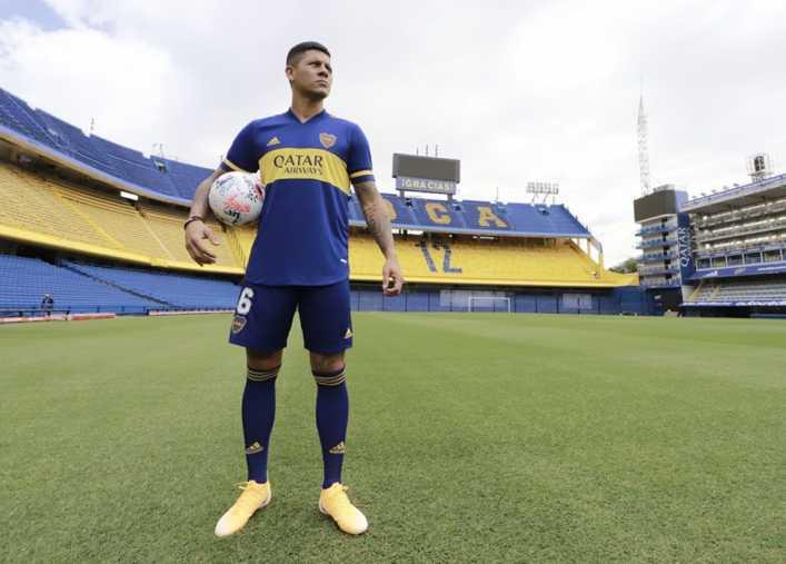 ¿Cuándo será el debut de Marcos Rojo en Boca?