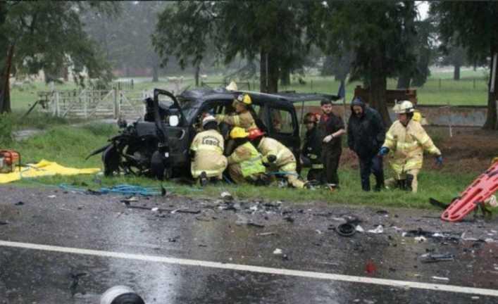 Cuatro hinchas de Boca murieron cuando viajaban a La Bombonera