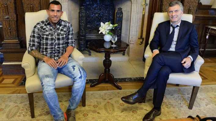 Cumbre Macri-Tevez en China: ¿de qué hablaron?
