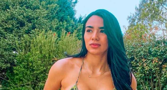 Daniela Cortés (ex de Villa) se destapó en Instagram con una candente foto