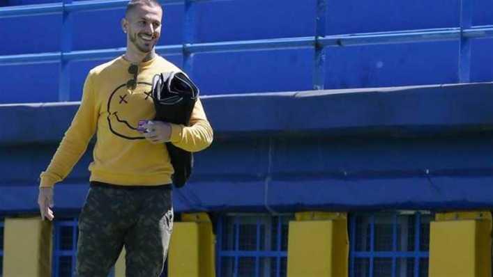 Darío Benedetto inició su rehabilitación en el gimnasio de Boca