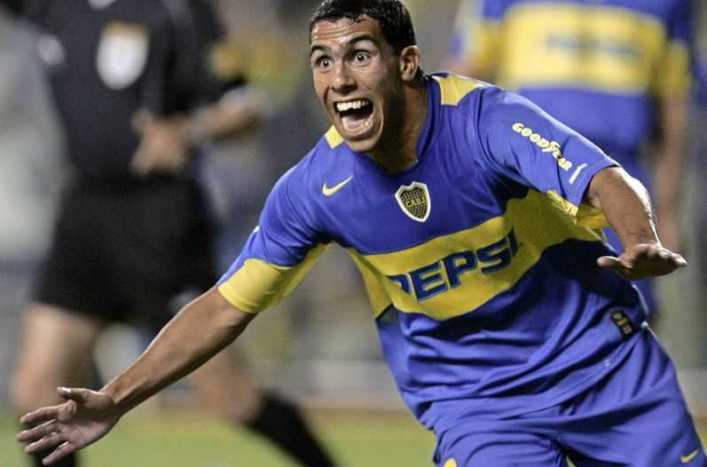 VIDEO: ¿Recuerdas el debut de Carlos Tévez en Boca Juniors?