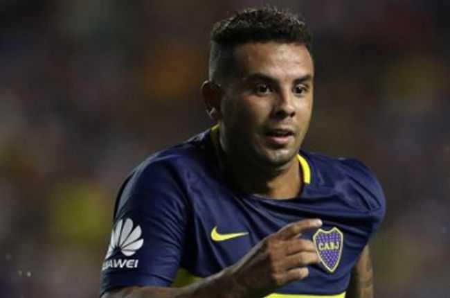 Edwin Cardona se lesionó con Boca Juniors