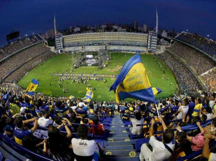 El 12/12 se festeja en La Bombonera