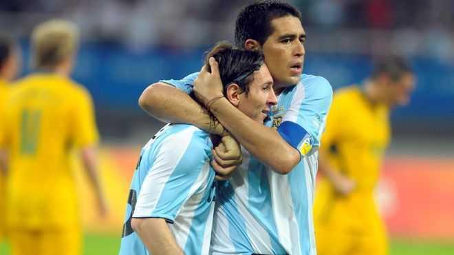 El día en que Messi jugó de Riquelme
