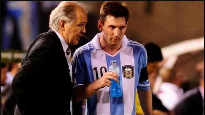 El emotivo recuerdo de Messi a Sabella
