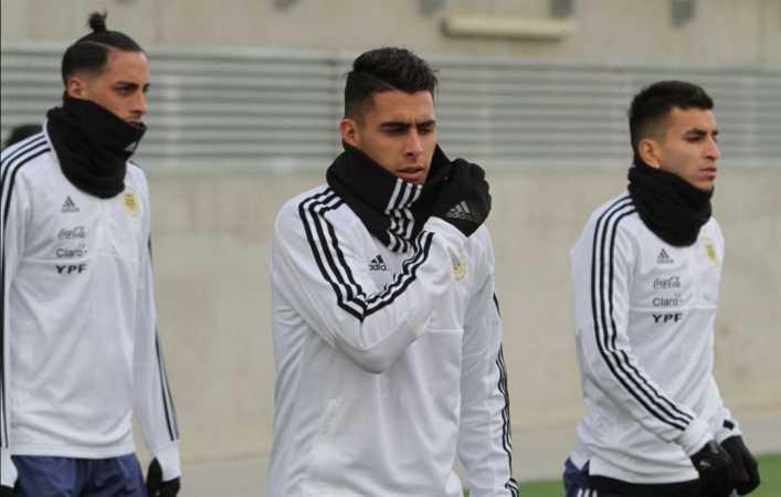 El equipo que paró Jorge Sampaoli en la primera práctica en Real Madrid