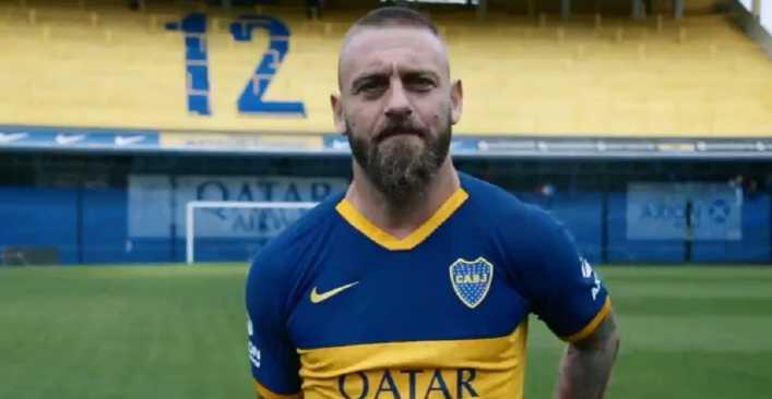 El insólito pedido de De Rossi a su llegada a Boca Juniors