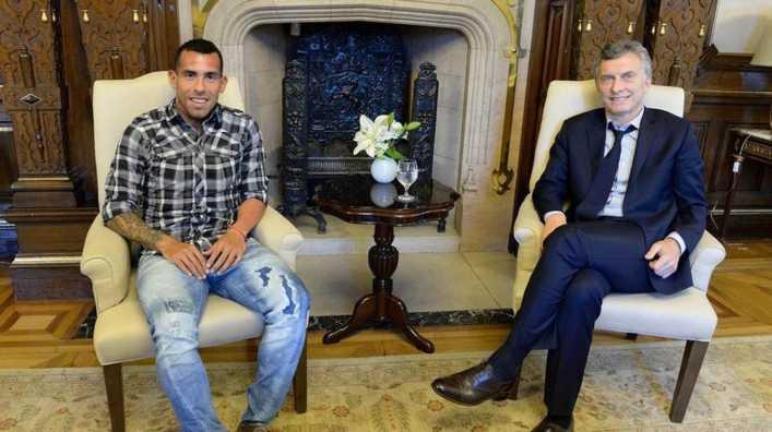 El jueves Macri se reunirá con Tevez en China