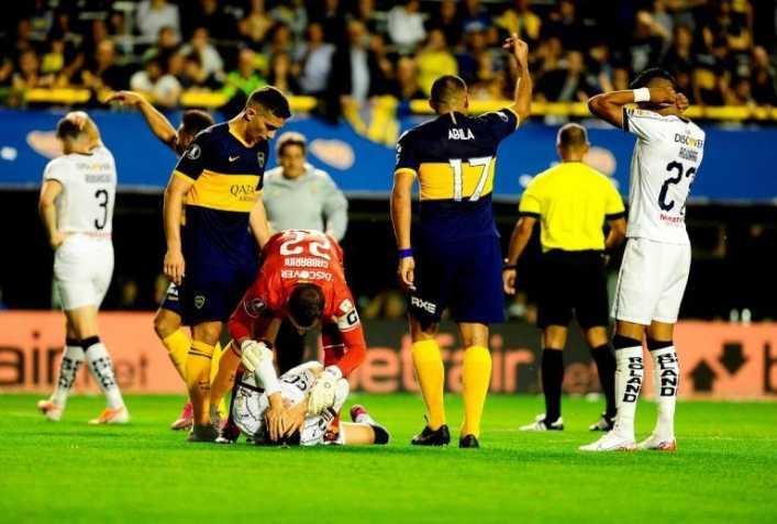 El noble gesto de jugador de Boca Juniors en Copa Libertadores