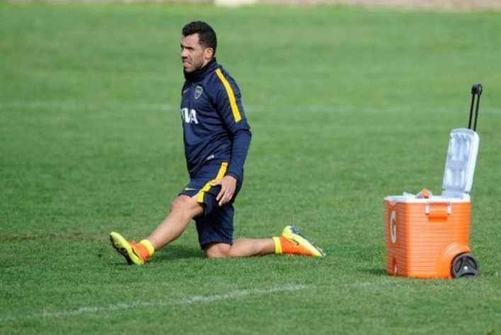 VIDEO: El penal que erró Tevez en el entrenamiento de Boca