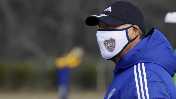 El probable equipo de Boca para enfrentar a Libertad