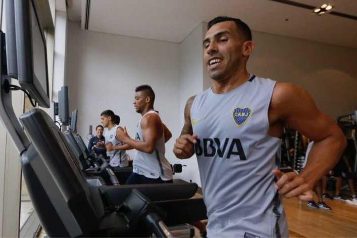 El regreso más esperado: Tévez ya entrenó Boca