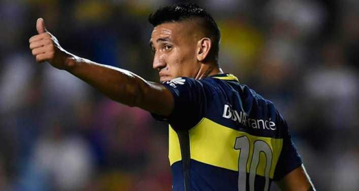 El tweet de Centurión mientras Boca jugaba ante Tijuana