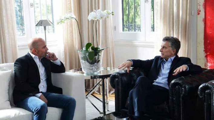 Ell tema de la reunión secreta entre Mauricio Macri y Jorge Sampaoli