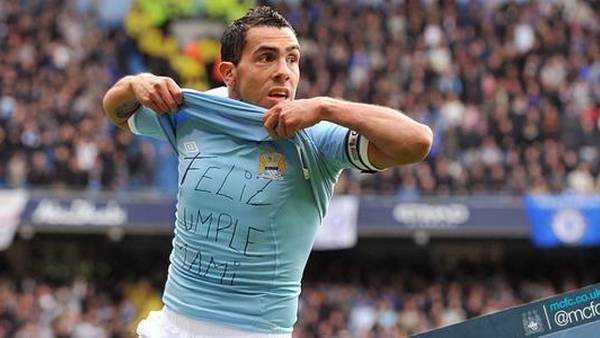 En Manchester City no se olvidan de un golazo de Tevez