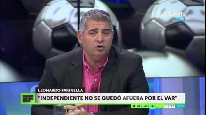 Farinella: Alfaro está enojado con Tevez