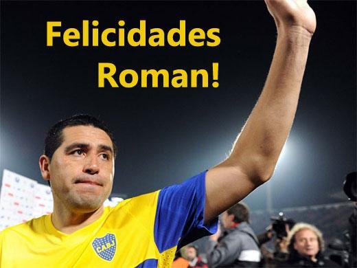 Felicita a Roman!